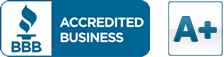 A+ Better Business Review Rating from BBB.org