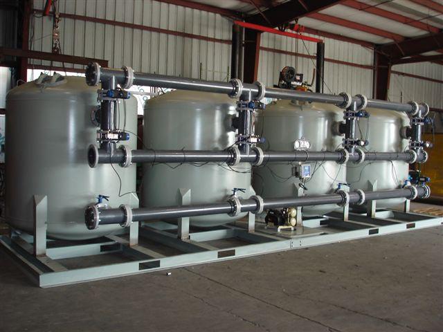 4-Vessel Filter System