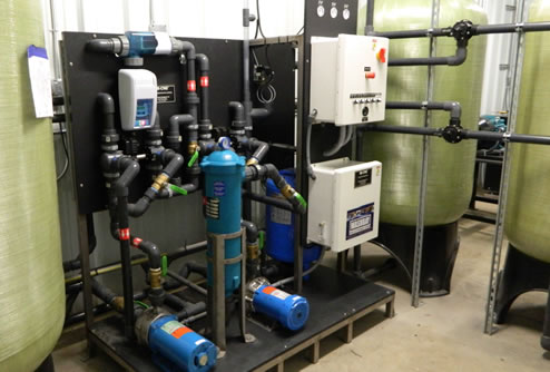 Equipment Wash Zero Discharge System