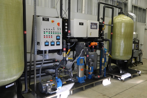 Truck Wash Water Reclaim System