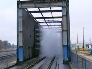 Locomotive Wash Bay Solutions