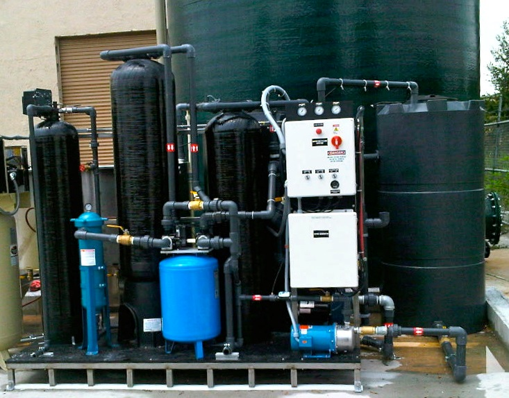 Fork Lift Water Treatment System