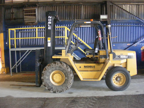 Water Treatment Solutions for Fork Lift Cleaning
