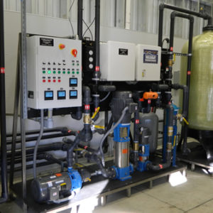 Wash Water Treatment System For Commercial Trucking Industry