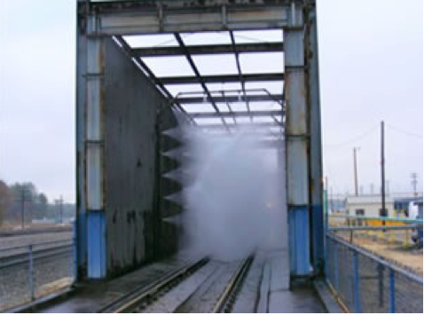 Locomotive Washing Systems