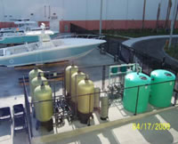 Marina Water Recycling