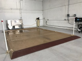 Wash Bay Containment Truck Pads